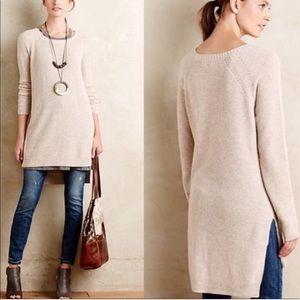 Anthropologie Moth Long Sleeve Sweater Dress
